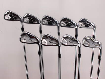 Callaway Apex/Apex Pro 19 Combo Iron Set 3-PW GW TT Dynamic Gold 120 Tour Issue Steel Stiff Right Handed 38.0in