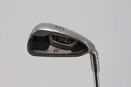 Ping G20 Single Iron 5 Iron Ping CFS Steel Regular Right Handed Orange Dot 36.0in