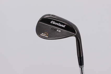 Cleveland CG15 Black Pearl Wedge Gap GW 52° 10 Deg Bounce Stock Steel Shaft Steel Wedge Flex Right Handed 37.0in
