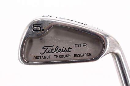 Titleist DTR Single Iron 5 Iron True Temper Dynamic Gold R300 Steel Regular Right Handed 37.75in