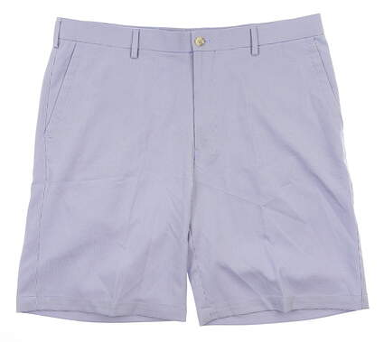 New Mens Peter Millar Herringbone Shorts 36 Purple MSRP $95