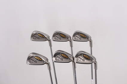 Ping i3 Blade Iron Set 6-PW Ping JZ Steel Stiff Right Handed Blue Dot 37.25in