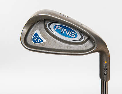 Ping G5 Single Iron 8 Iron Ping AWT Steel Senior Right Handed Yellow Dot 35.75in