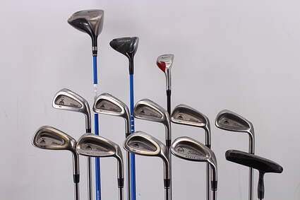 Mens Complete Golf Club Set Right Handed Stiff Flex Nike Driver Titleist Irons Wedges Putter RH MSRP $1699.99
