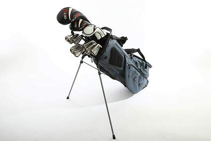 Titleist 718 AP1 917 Complete Golf Club Set Driver Fairway Hybrid Iron Set Wedges Stand Bag Graphite Regular Right Handed MSRP $2300
