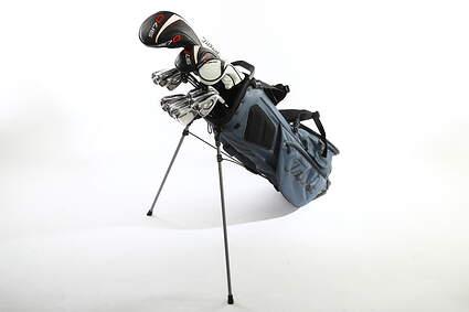 Titleist 718 AP3 917 Complete Golf Club Set Driver Fairway Hybrid Iron Set Wedges Bag Right Handed Stiff Steel MSRP $2900