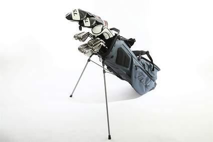 Titleist 718 AP1 TS Complete Golf Club Set Driver Fairway Hybrid Iron Set Wedges Bag Right Handed Regular Steel MSRP $2,799.99