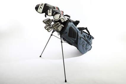 Titleist 718 AP1 TS Complete Golf Club Set Driver Fairway Hybrid Iron Set Wedges Bag Right Handed Regular Graphite MSRP $2,300
