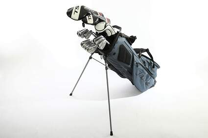 Titleist 718 AP2 TS3 Complete Golf Club Set Driver Fairway Hybrid Irons Wedges Stand Bag Right Handed Stiff MSRP $3049.99
