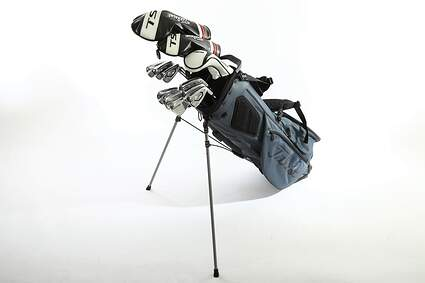 Titleist 718 AP3 TS Complete Golf Club Set Driver Fairway Hybrid Irons Wedges Stand Bag Right Handed Stiff MSRP $2,919.99