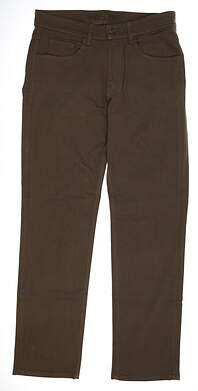 New Mens Straight Down Pants 38 x34 Green MSRP $126