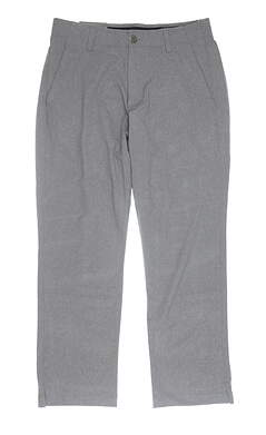 New Mens Under Armour Show Down Vented Golf Pants 38 x30 Gray MSRP $98