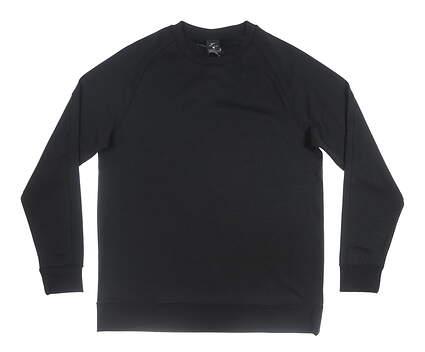 New Mens Nike Long Sleeve Crew Neck Large L Black MSRP $104 AV4127