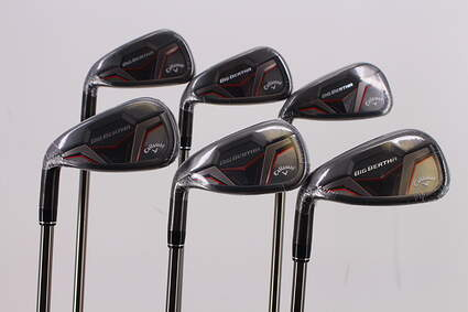 Mint Callaway 2019 Big Bertha Iron Set 5-PW UST Mamiya Recoil ESX 460 F2 Graphite Senior Left Handed 38.5in