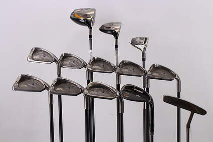 Mens Complete Golf Club Set Right Handed Regular TaylorMade Driver Ping Irons Wedge Putter RH MSRP $1799.99