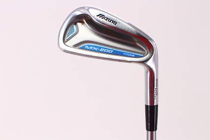Mizuno MX 200 Single Iron 6 Iron Mizuno Exsar IS4 Graphite Regular Right Handed 38.25in