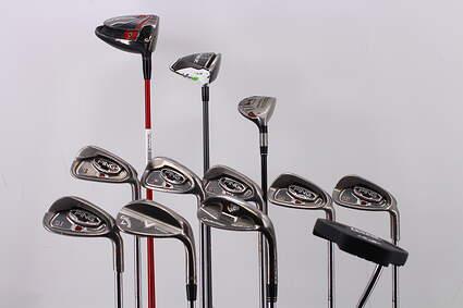 Mens Complete Golf Club Set Regular RH Callaway Driver Ping Irons Wedge Putter