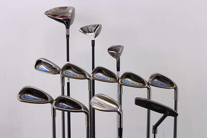 Mens Complete Golf Club Set Right Handed Regular TaylorMade Driver Ping Irons Callaway Hybrid Wedge Putter RH MSRP $1799.99