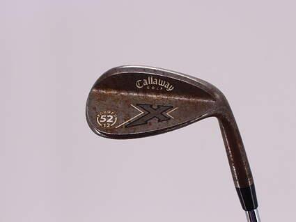 Callaway X Forged Vintage Wedge Gap GW 52° 12 Deg Bounce Callaway X Steel Steel Wedge Flex Right Handed 35.25in