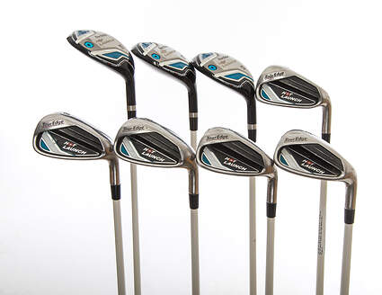Tour Edge Hot Launch Combo Iron Set 4H 5H 6H 7-PW SW Tour Edge Hot Launch 45 Graphite Ladies Right Handed 37.0in