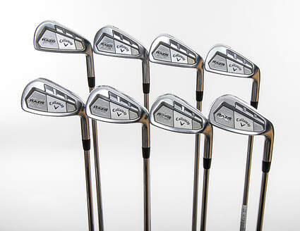 Callaway Razr X Forged Iron Set 4-PW GW Project X Flighted 5.5 Graphite Stiff Right Handed 38.25in