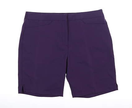 New Womens Puma Pounce Bermuda Shorts Large L Indigo MSRP $65 577944 06