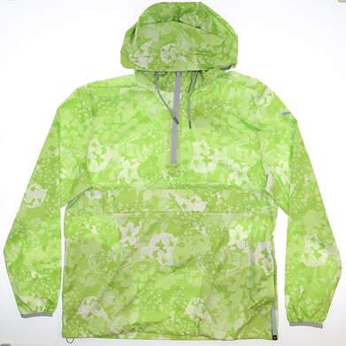 New Mens Puma Tournament Wind Jacket Medium M Greenery MSRP $85 596390 02