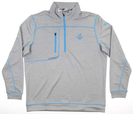 New W/ Logo Mens Puma Go Low 1/4 Zip Pullover X-Large XL Gray MSRP $75 577899 01