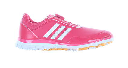 New Womens Golf Shoe Adidas Adistar Lite Boa Medium 8.5 Red MSRP $110 F33653