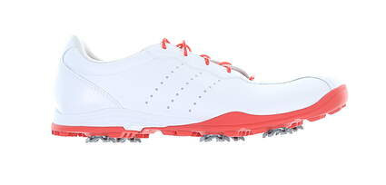 New Womens Golf Shoe Adidas Adipure DC Medium 8.5 White/Red MSRP $110 F33615