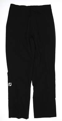 New Womens Footjoy Rain Pants Large L Black MSRP $199 35212