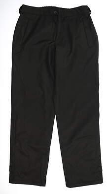 New Womens Abacus Rain Pants Large L Black MSRP $89 2008