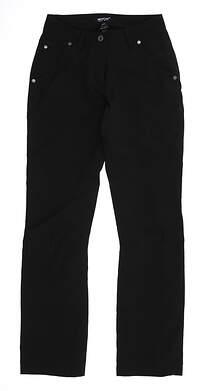 New Womens Abacus Rain Pants 2 Black MSRP $89 2052