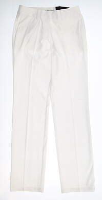 New Womens Nike Golf Pants 2 White MSRP $90 725732