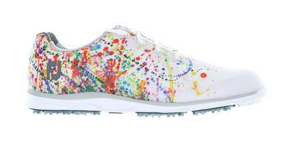 New W/O Box Womens Golf Shoe Footjoy emPOWER Medium 9 White/Pink 98012 MSRP $135
