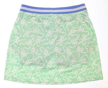New Womens Ralph Lauren Bow Print Skort Small S Preppy Bows MSRP $129 491178