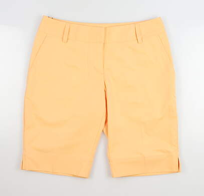 New Womens Adidas Shorts 4 Orange MSRP $60 O32884