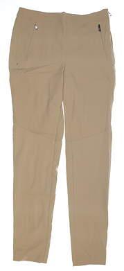 New Womens Ralph Lauren RLX Pants 6 Sand Dune MSRP $65