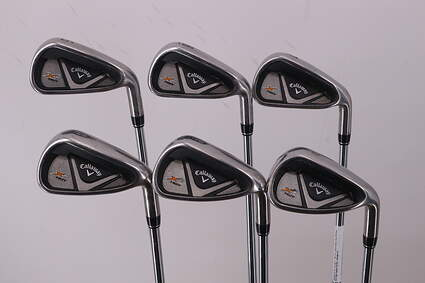 Callaway X2 Hot Iron Set 5-PW True Temper Speed Step 85 Steel Stiff Right Handed 38.25in