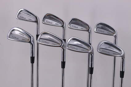 Titleist 690.CB Forged Iron Set True Temper Dynamic Gold S300 Steel Stiff Right Handed 38.0in