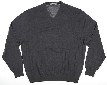 New Mens MARTIN Merino Classic Sweater X-Large XL Gray MSRP $135 152M240
