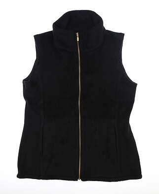 New Womens Straight Down Vest Medium M Black MSRP $120 W10146