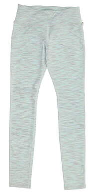 New Womens Straight Down Leggings X-Small XS Green MSRP $90 W50107
