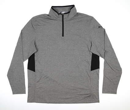 New Mens Puma Rotation 1/4 Zip Pullover XX-Large XXL Gray MSRP $80 577900 03