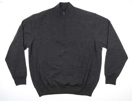 New Mens Footjoy 1/4 Zip Sweater XX-Large XXL Gray MSRP $170 33814