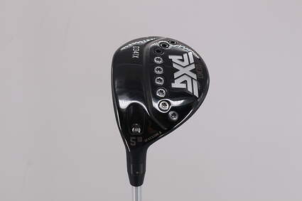 PXG 0341X Fairway Wood 5 Wood 5W 18° Aldila Rogue Black 70 Graphite X-Stiff Left Handed 42.5in