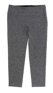 New Womens Footjoy Ankle Leggings Large L Charcoal Space Dye MSRP $80 27201