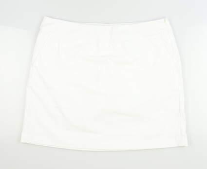 New Womens Nike Golf Skort 14 White MSRP $75 742875