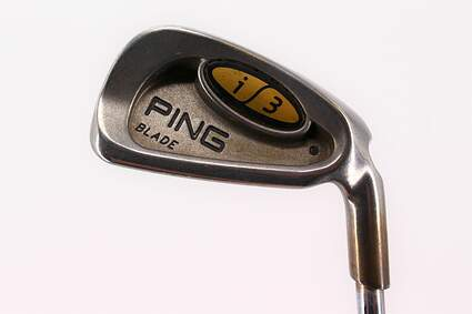 Ping i3 Blade Single Iron 6 Iron Dynamic Gold Sensicore Steel Stiff Right Handed Black Dot 38.25in