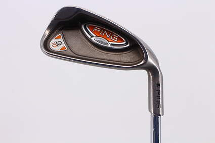Ping G10 Single Iron 5 Iron Ping AWT Steel Regular Right Handed Black Dot 37.75in